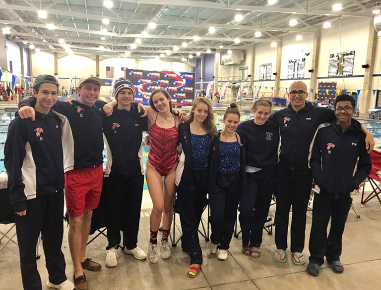 Falcon Swim Team Goes to State